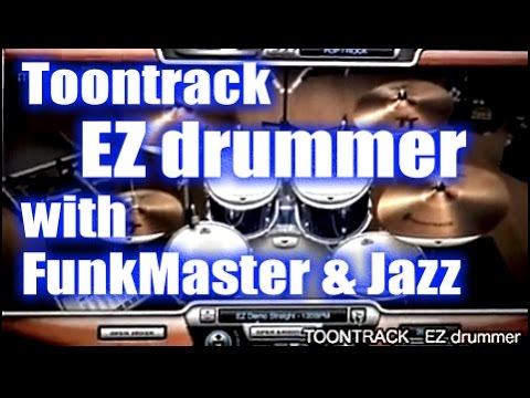 (DEMO) Toontrack EZDrummer + FunkMasters + Jazz. rhythm funk masters-enormo