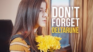 """""""Don't Forget"""" (Vocal Cover // DELTARUNE OST) (Adriana Figueroa & FamilyJules)"""