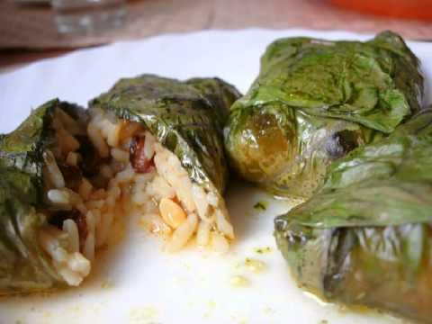 Recetas de cocina vegetariana Hojas de acelgas rellenas