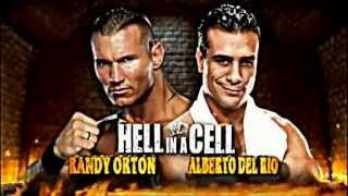 wwe hell in a cell 2012 official match card