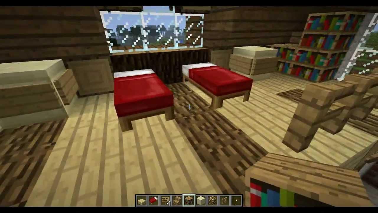 Minecraft Tutorial V2 Come Arredare Una Casa Stanza Da