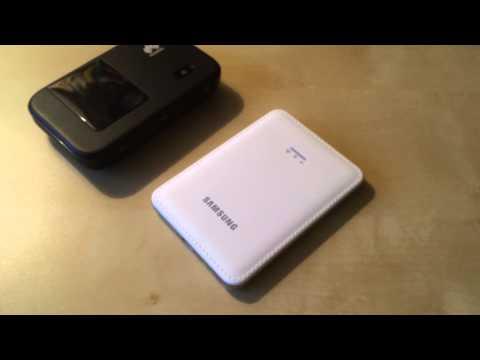 Samsung Mobile Hot Spot - Arabic - جهاز سامسونغ موبايل هوت سبوت للانترنت