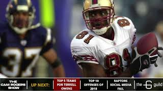 Terrell Owens' NFL Comeback: 5 Teams That Could Sign Him In 2018