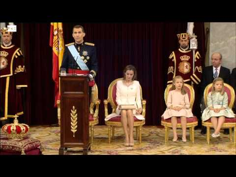 Felipe VI sworn in before Parliament and proclaimed king of Spain
