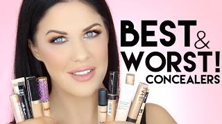 THE BEST AND WORST CONCEALERS OF ALL TIME!!