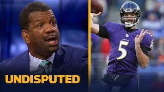 Rob Parker believes Joe Flacco is a 'downgrade' for the Denver Broncos   NFL   UNDISPUTED