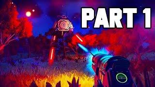 No Man's Sky Gameplay Walkthrough Part 1 - FULL GAME PS4 GAMEPLAY (1080p 60fps)