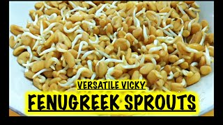 Fenugreek Sprouts / Fenugreek Health Benefits / Fenugreek for Weight Loss