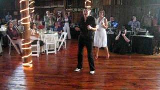 Lesbian wedding dirty dancing