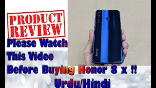 Huawei Honor 8x Review | Please watch it Before Buying This Phone ! | Specifications and Much More