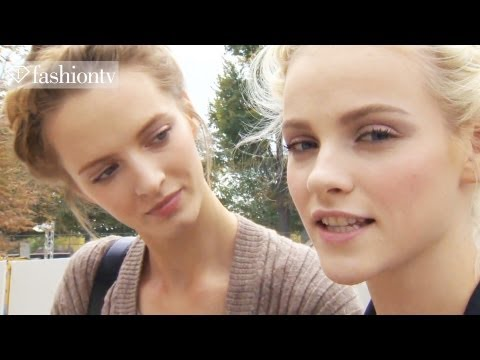 Model Talks - Ginta Lapina - Interview & Highlights at Fashion Week 2012 Spring | FashionTV