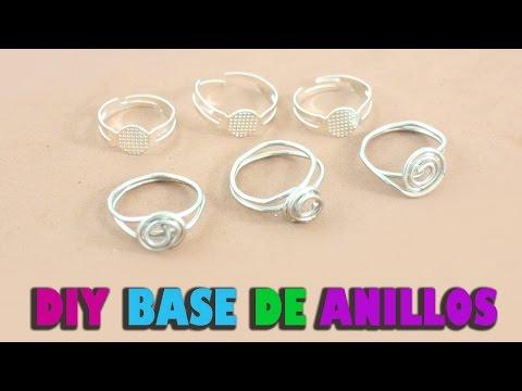 C�mo hacer una base de anillos ajustable casera