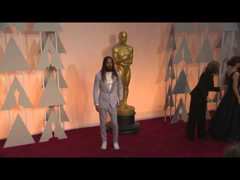 Oscars: Jared Leto Red Carpet (2015)