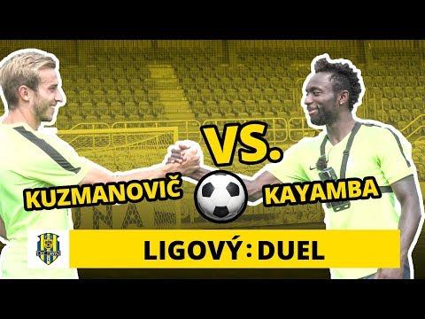 Duel: Sázka o kinder vajíčko! Kuzmanovič a Kayamba kopou zamotané penalty