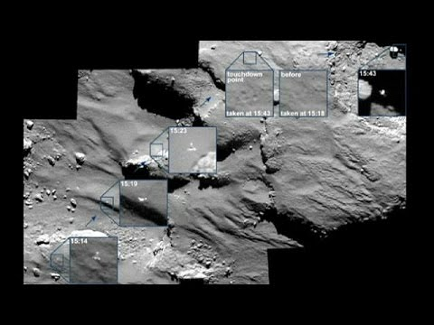 Fresh pictures of Philae's historic comet landing