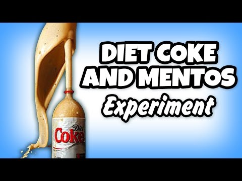 diet coke and mentos information Transcript of coke & mentos science fair project by: breille procks & nadine bomo coke & mentos  drop the mentos into the diet coke and run far back.