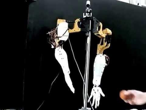 3D Printed Humanoid Robot - Animatronic Robot Hand u0027 InMoov
