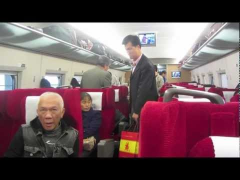 PAUL HODGE: CHINA HIGH SPEED RAIL, SOLO AROUND WORLD IN 24 DAYS, Ch 72 of 95, Amazing World Minutes