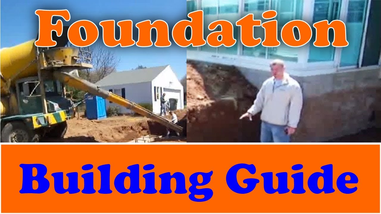 How to build a foundation from start to finish youtube for Building a house from the ground up cost