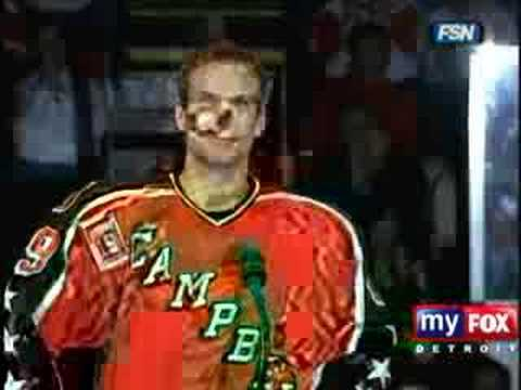 Nicklas Lidstrom's Speech Video
