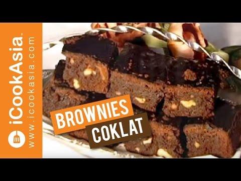 Brownies Coklat | Try Masak | iCookAsia
