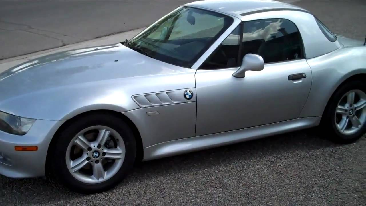 2000 Bmw Z3 43k Miles Hard Soft Top 1 Owner Accident