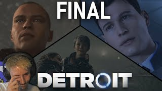 EINDE VAN KARA, CONNOR & MARKUS!? - Detroit: Become Human #FINAL