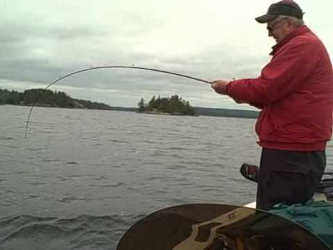 Crane Lake Mn Fishing  Big Trout  June 2011