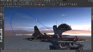 Maya 2012 - Animation (Part 2) Editable Motion Trails