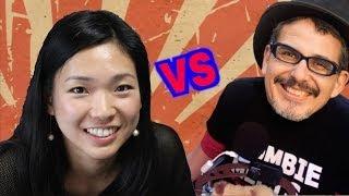 Godfather of Jvlog vs Dragon Lady Kaz