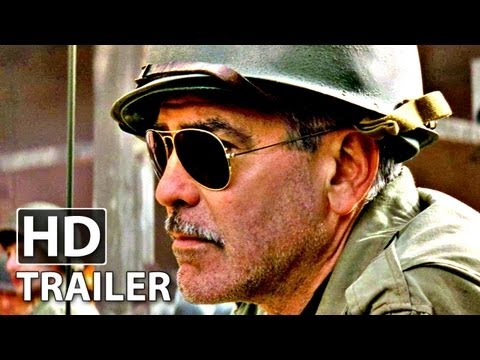 MONUMENTS MEN - Trailer German | HD George Clooney, Matt Damon
