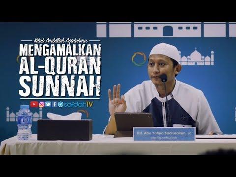 Kitab  Ambillah Aqidahmu: Mengamalkan Al Qur'an dan Sunnah - Ustadz Badru Salam, Lc