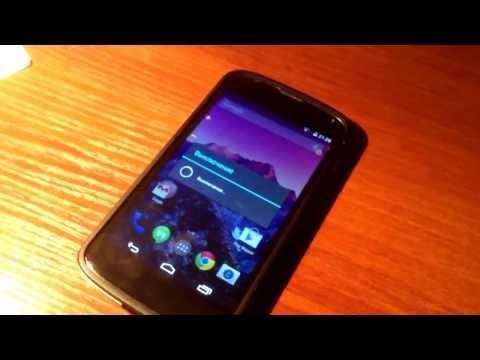 Установка Андроид 4.2.3 На Nexus 7