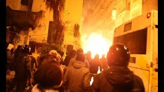 Athens Warzone - Front line view of the fierce riots in solidarity to anarchist Nikos Romanos (2/12)