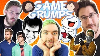Game Grumps mention other Youtubers compilation [Youtubers Big and small]