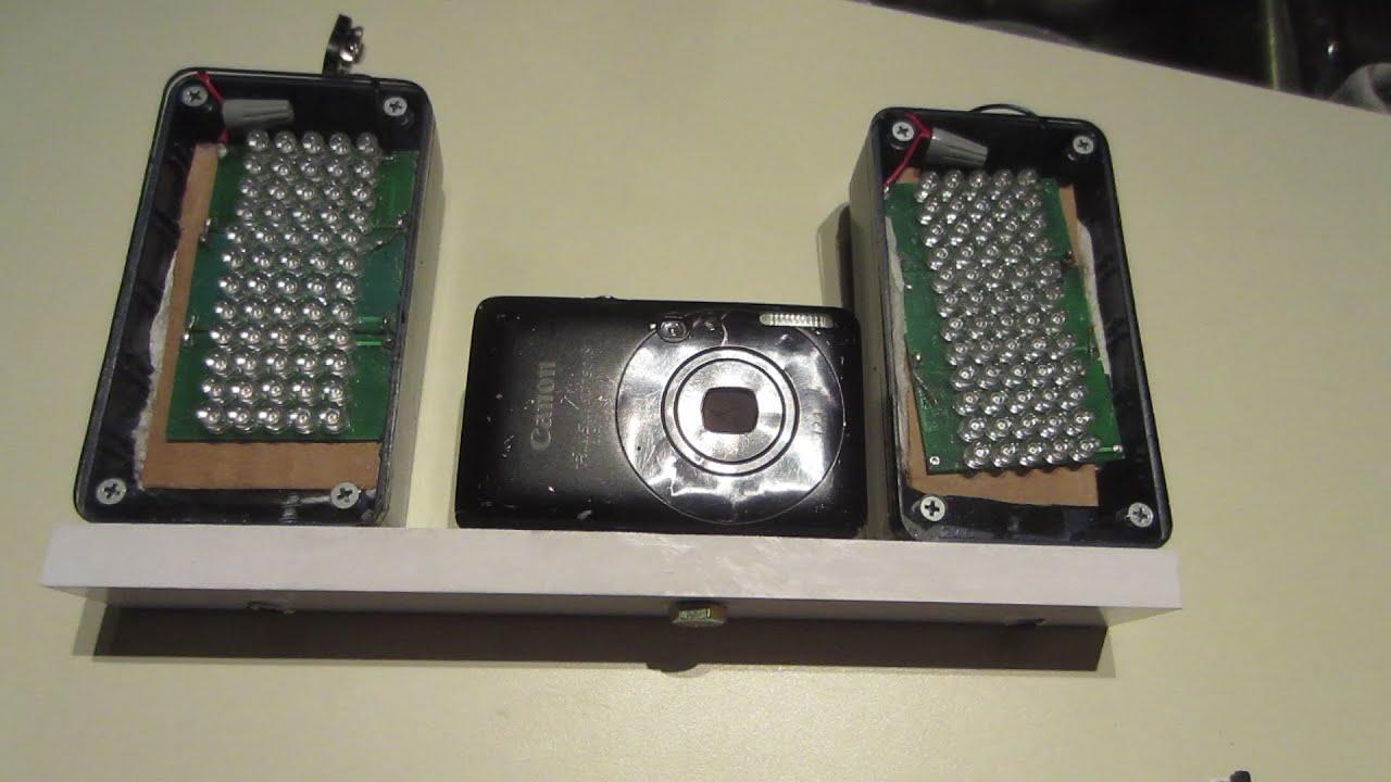 homemade night vision camera ir led light panels 9. Black Bedroom Furniture Sets. Home Design Ideas