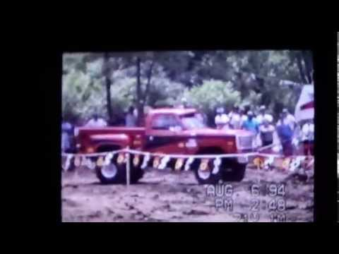 Brian Copley 2nd place B class @ Cabell Fair Mud Bog in Milton, WV 1994