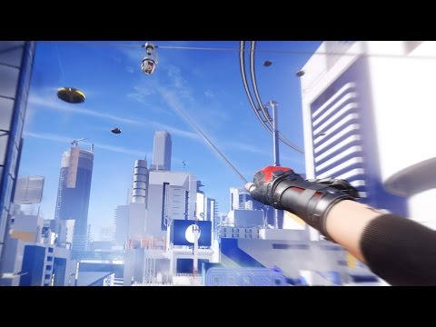 Mirror's Edge Catalyst - Free Running | Free Roam Gameplay (PC HD) [1080p60FPS]