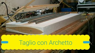 Taglio Ala Aeromodello in Polistirene espanso con filo caldo (HOT WIRE FOAM WING CUTTING)