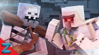 Mutant Skeleton vs. Iron Golem (Minecraft Animation)