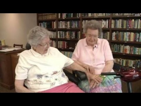 Elderly Lesbians Finally 'come Out', Marry video