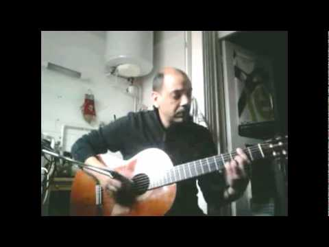 The Shadow of Your Smile (modified Ted Greene version) Solo Jazz Fingerstyle Guitar