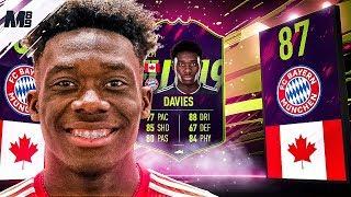 FIFA 19 FUTURE STAR ALPHONSO DAVIES REVIEW | 87 ALPHONSO DAVIES PLAYER REVIEW FIFA 19 ULTIMATE TEAM