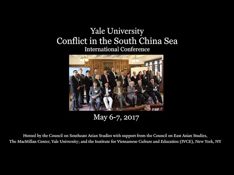 """Conflict in the South China Sea, """"Opening Remarks"""""""