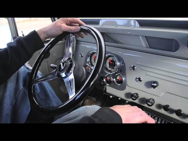 1966 Toyota Land Cruiser FJ45 Long Bed Pickup Truck FOR ...