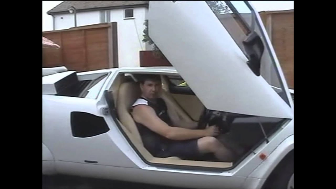 2005 Sienna White Lamborghini Countach Replica The Story