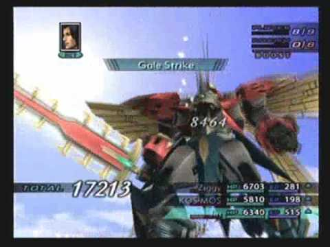 Xenosaga Episode 3: Erde Kaiser Sigma battle