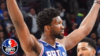 Joel Embiid goes head-to-head with Deandre Ayton, leads 76ers to win vs. Suns | NBA Highlights