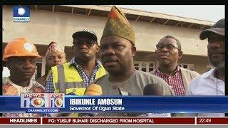 Ogun Education: Gov Amosun Inspects State Polytechnic, Ipokia