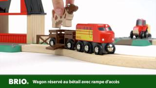 BRIO Farm Railway Set (33719) Français